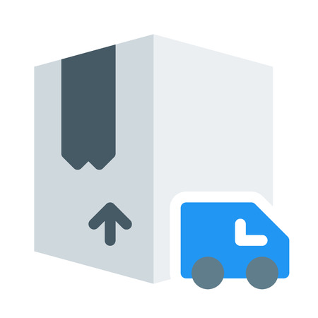 Box Deliver Option Иллюстрация