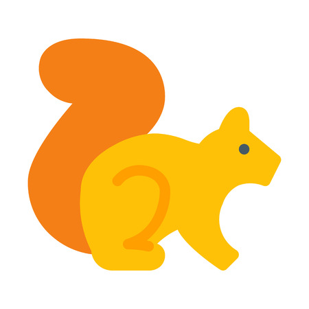 Squirrel or Chipmunk 向量圖像