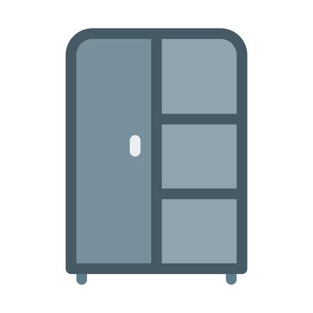 Single Door Wardrobe