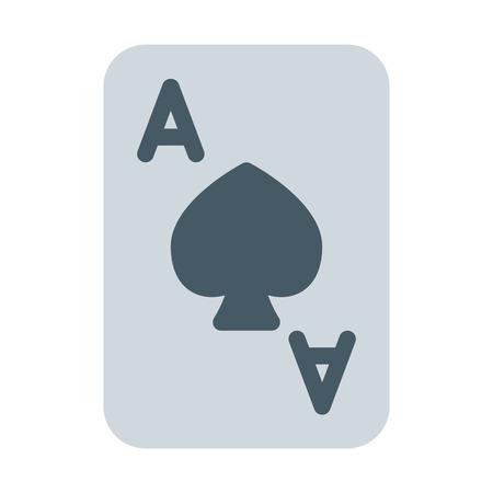 Spade Ace Card