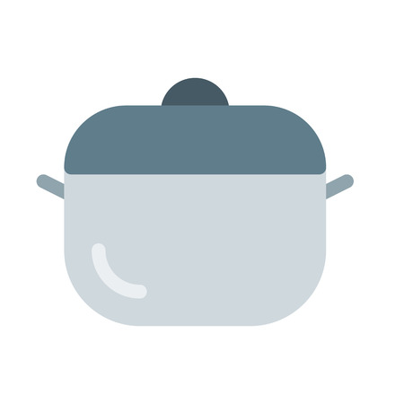 induction cooking pot Illustration