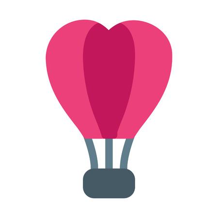 Hot Air Balloon Ilustração