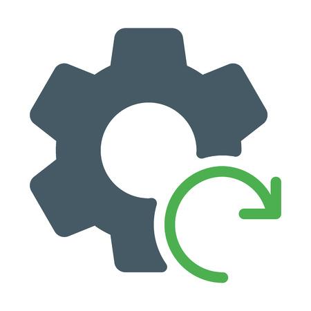 Reset or Reload Settings 矢量图像