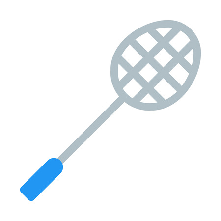 Badminton Racket Ilustração