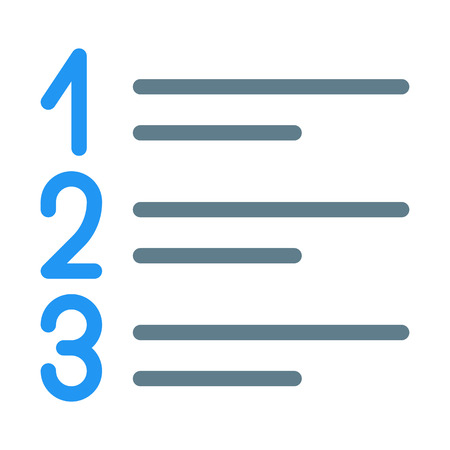 Numbered List Sequence