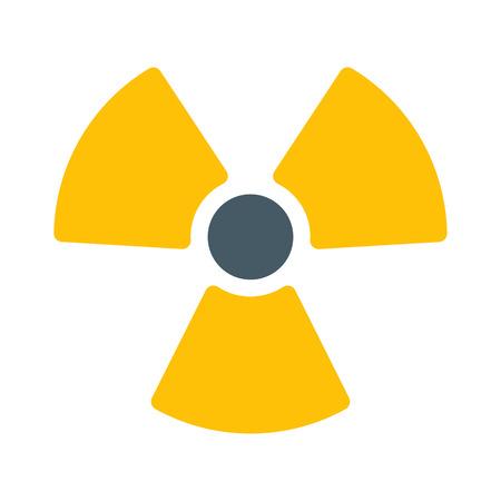 Radioactive Nuclear Symbol Stock Illustratie