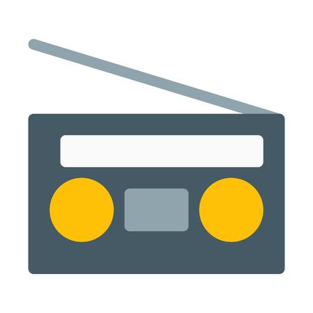 Radio with Antenna Çizim