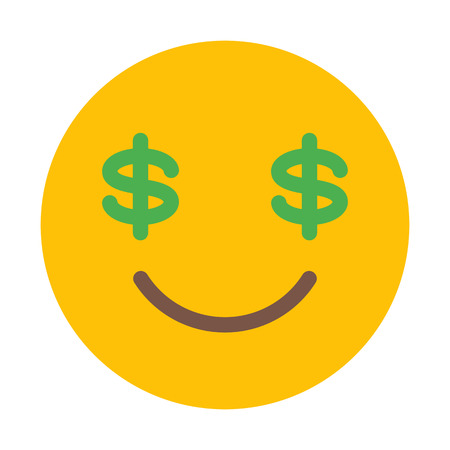 Money Eye Emoji Ilustração
