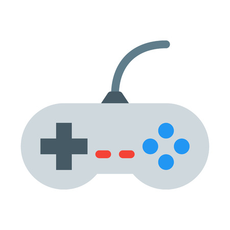 Video Game Controller Illustration
