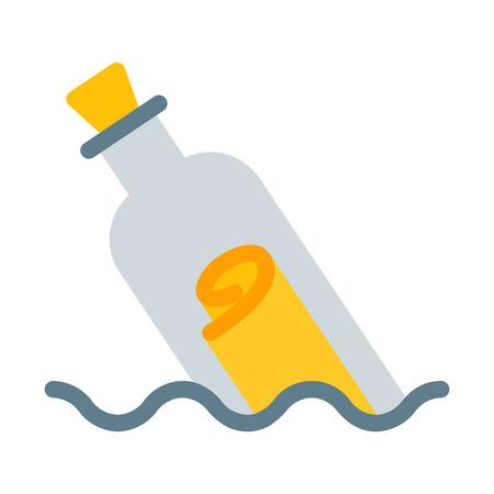 Message en bouteille