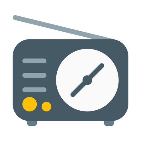 Old Technology Radio Çizim