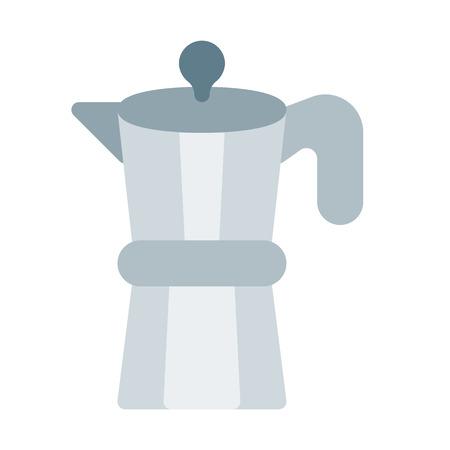 coffeemaker machine isolated Ilustração