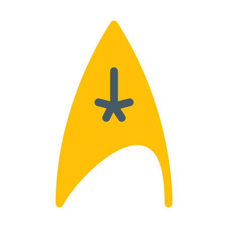 Star Trek Symbol Stock Illustratie