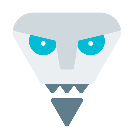 devil robot Illustration