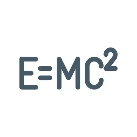 Relativity Einstein Formula Stock Vector - 116546025