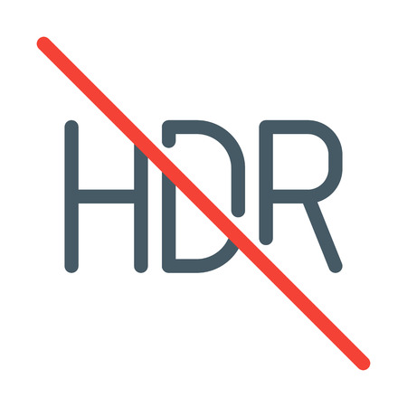 HDR Function Off