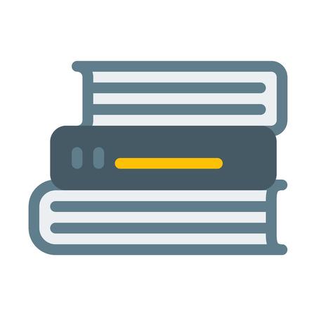 Books Staked Up 版權商用圖片 - 126408032