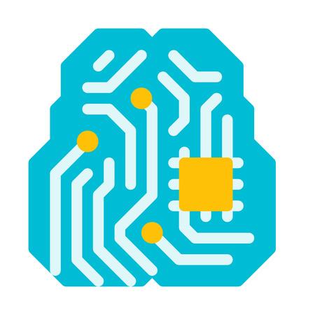 microchip Ilustração