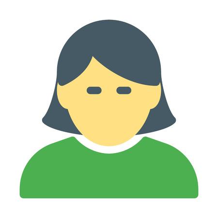 Female user profile