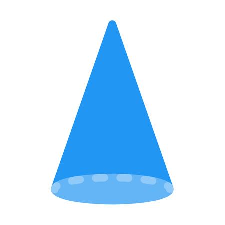 Conical Geomentric Shape Illustration