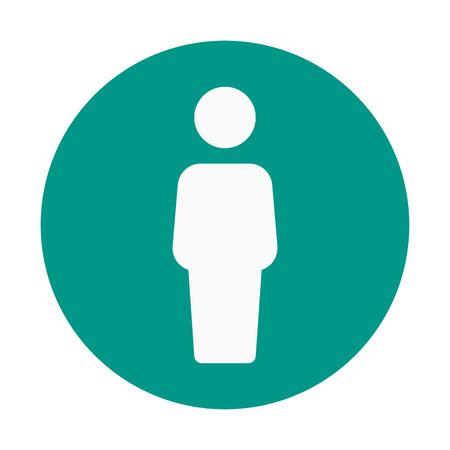 Male Use Signboard