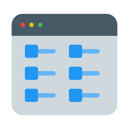 List or Toggle View