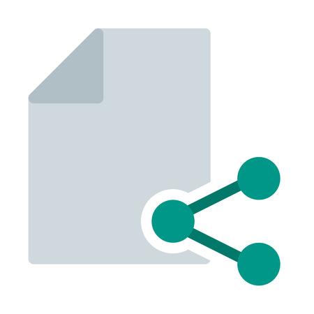 Share file button