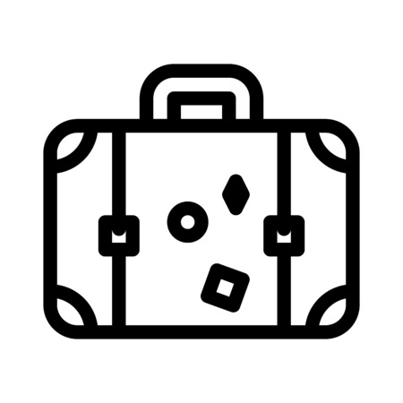 Vintage Suitcase Luggage