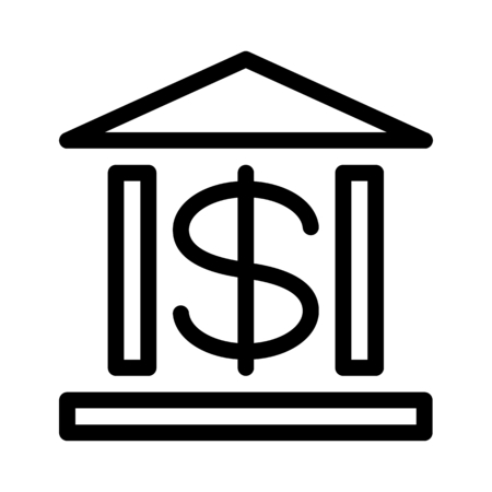 Bank Institution Illustration