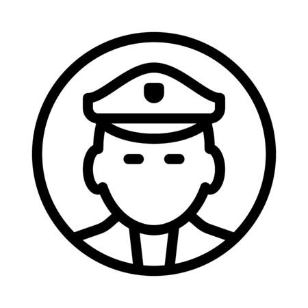 policeman Vettoriali