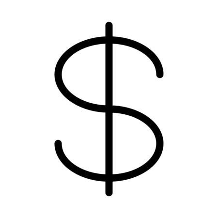 Dollar Currency Symbol Çizim