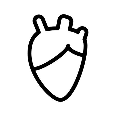 Heart - Cardiology Department Stock Illustratie