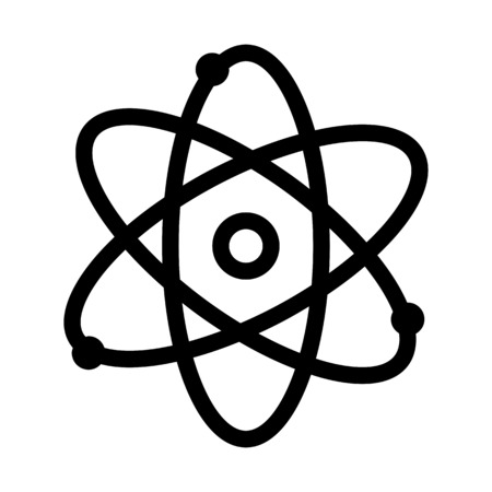 Núcleo de partículas de átomo
