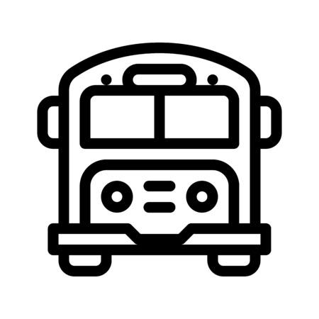 School Bus Service Ilustrace