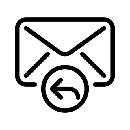 Reply Mail Button Vettoriali