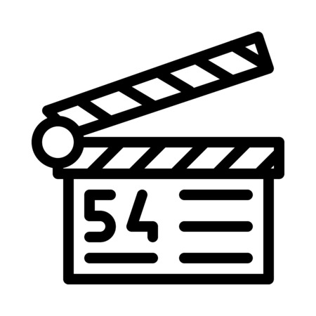 Film or Cinema Clapper