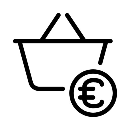 Checkout with euro currency