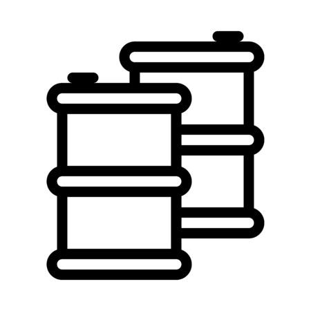 Gas Container or Drum Standard-Bild - 126278453
