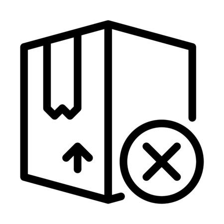 Cancel Product Shipment Illustration