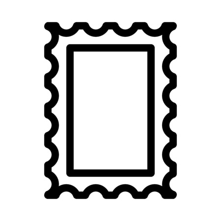 Mail or Letter Stamp Фото со стока - 126278602