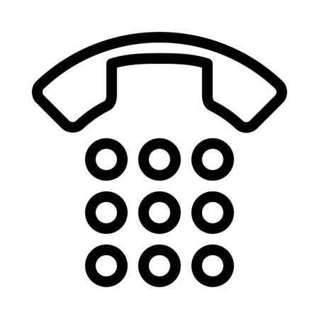 Dial or Num Pad