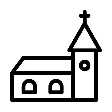 Christain Church Building Çizim