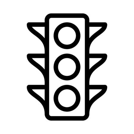 Trafic Light Sign Illustration