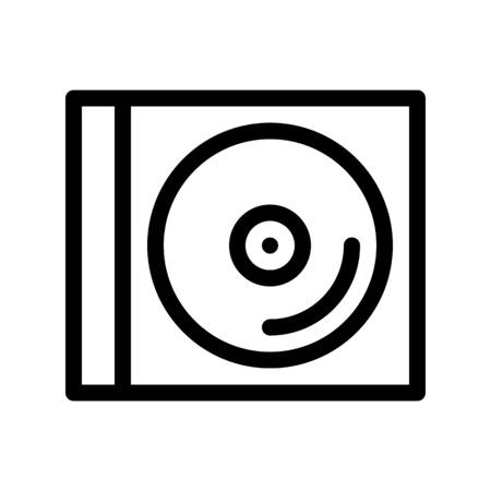 Caja de disco compacto