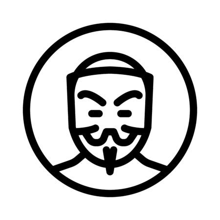 anonymous Vektoros illusztráció