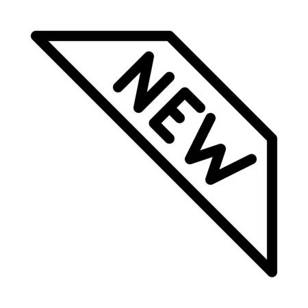 New item label