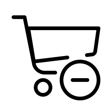 Remove Shopping Cart Vecteurs