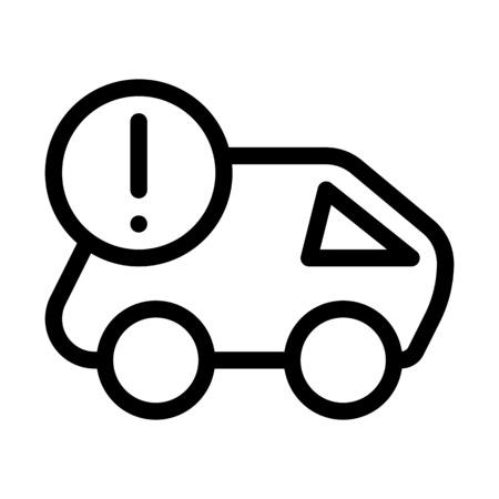 Delivery Status Alert Illustration