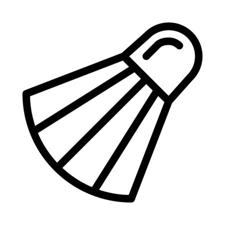 Badminton shuttlecock Game Çizim
