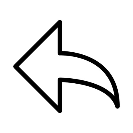Reply Arrow Button